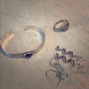 Jewelry - Solid silver 925 bundle